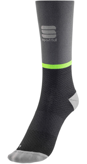 Sportful Giara 15 Socks green fluo/black